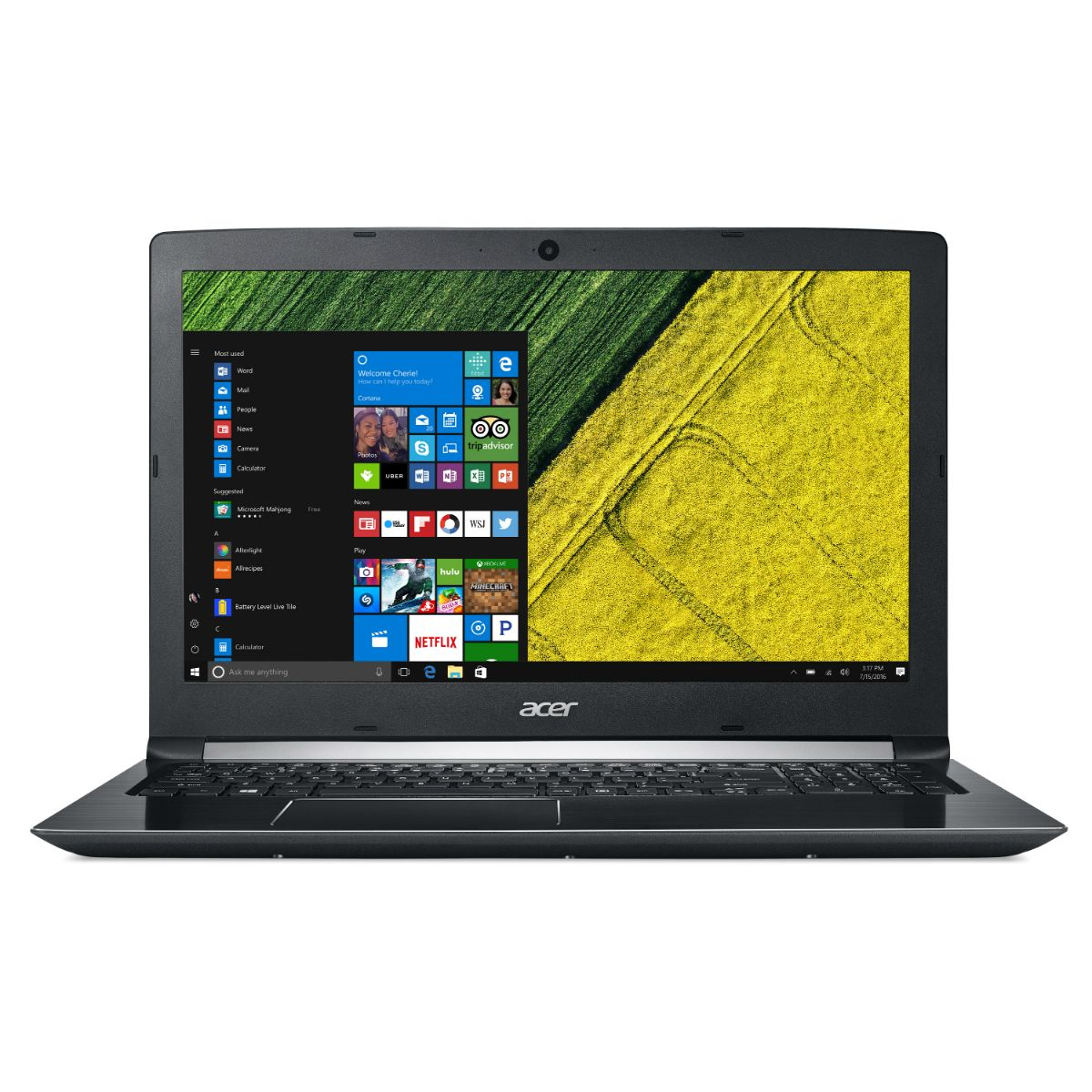 Notebook Acer A515- 51-70re Core I7 (optane) W10h