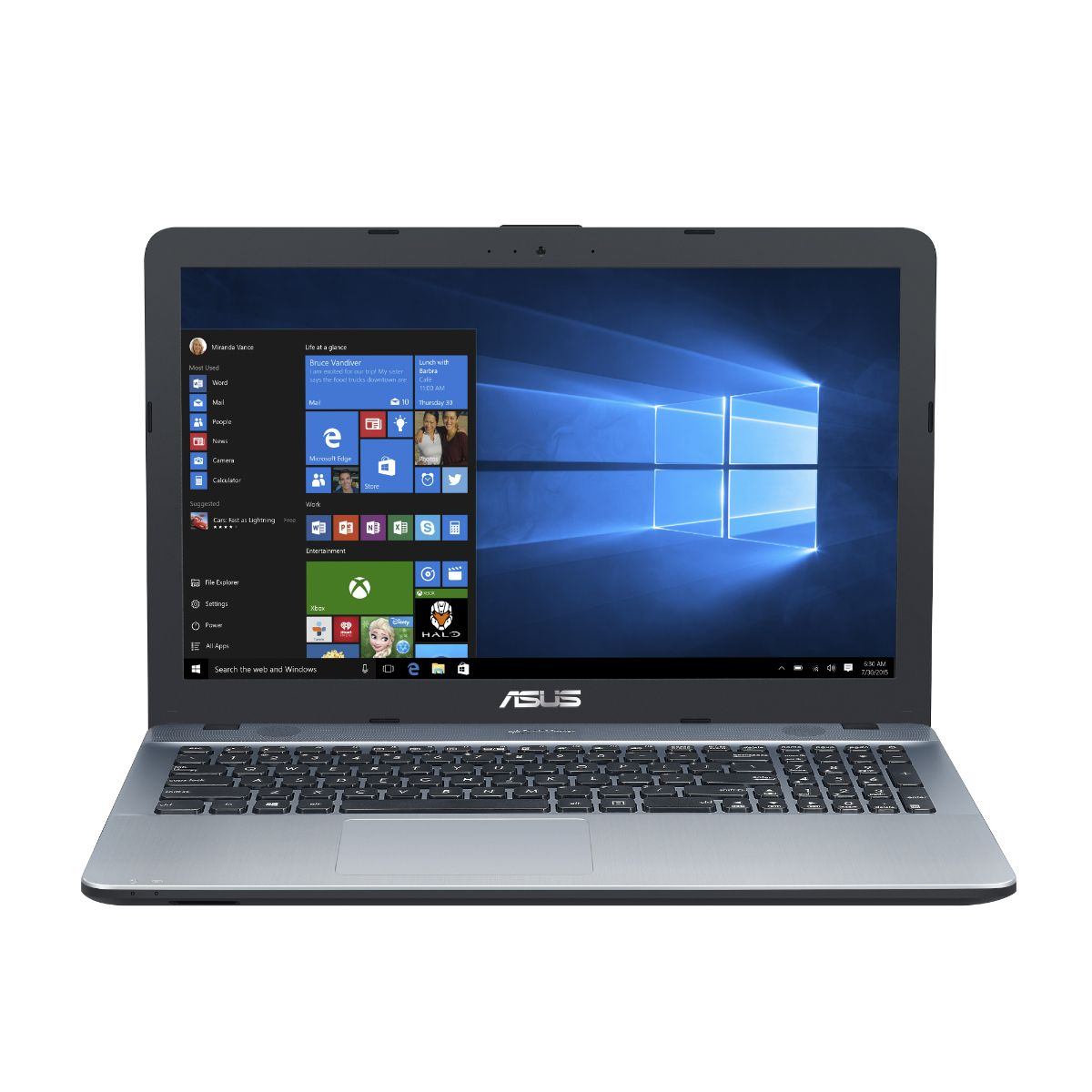 Notebook Asus X541na-go123t Dual Core Silver W10