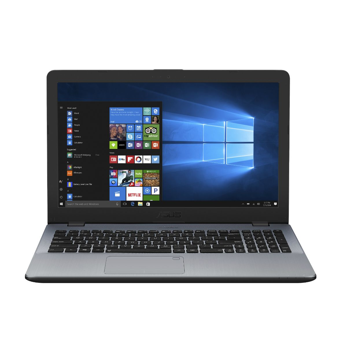 Notebook Asus X542uf-go123t Core I5 W10 Gris