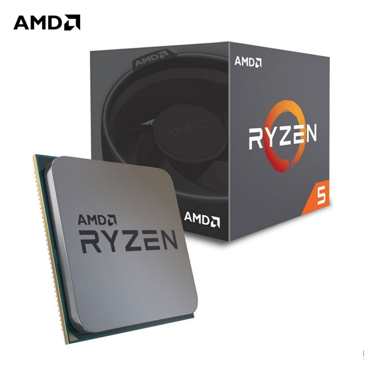 Cpu Amd Ryzen 5 2600 Am4 Box