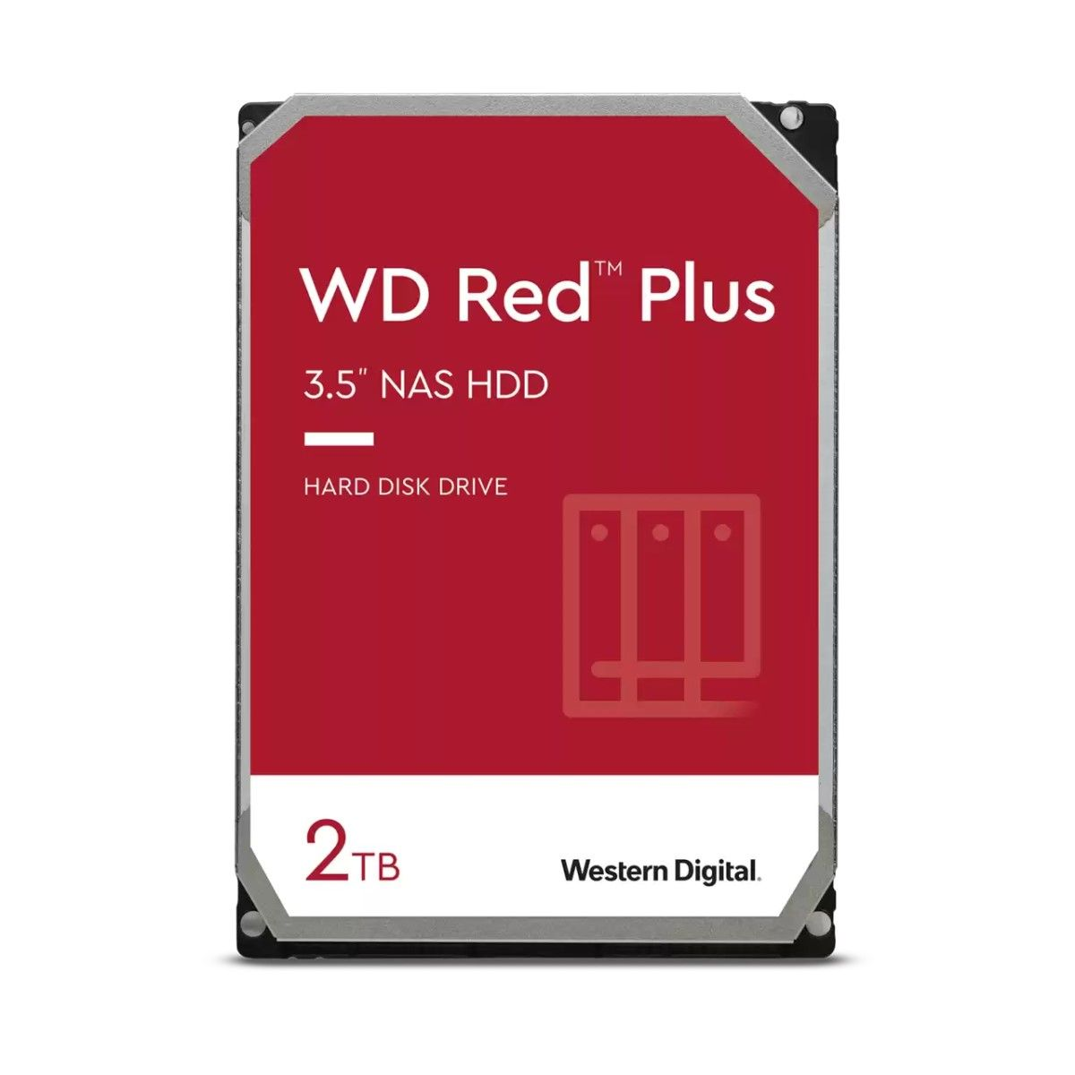 "Hdd 3.5"" Wd Red 2tb Sata3 IntelliPower Rpm"