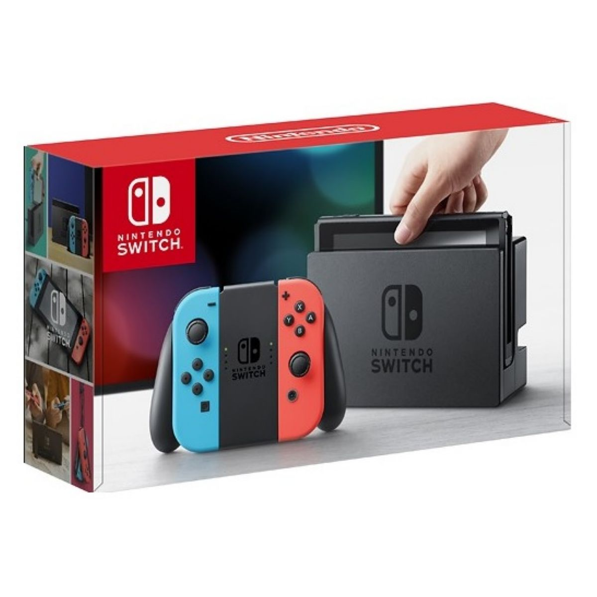 Consola Nintendo Switch Neon Blue