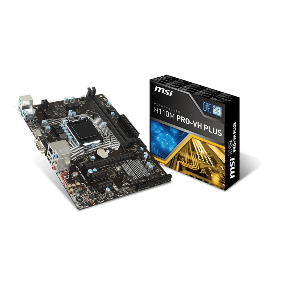 Motherboard Msi H110m Pro-vh Plus S1151