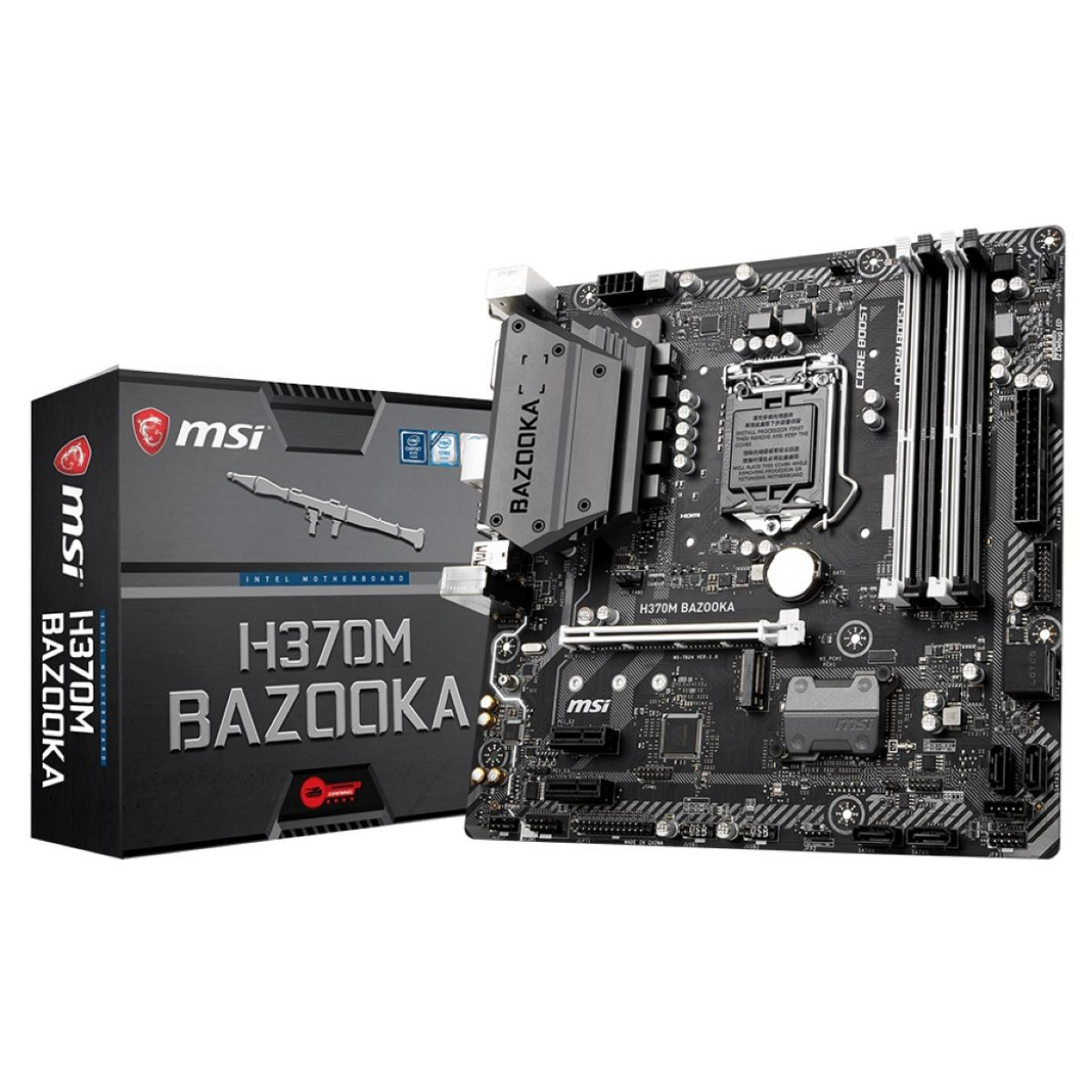 Motherboard Msi H370 Bazooka S1151 8th Gen