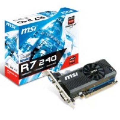 Tarj. Vga Msi R7 240 Lp Edition 2gb Ddr3